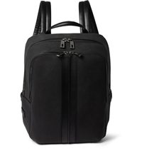 Tod's Nubuck Leather Backpack Black