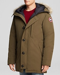 Canada Goose Chateau Parka With Fur Hood Military Green