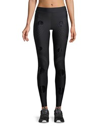Ultracor Solstice Full Length Compression Tights With Circles Black