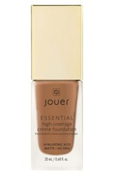 Jouer Essential High Coverage Creme Foundation Pecan