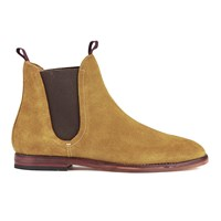 H Shoes By Hudson Men's Tamper Suede Chelsea Boots Sand