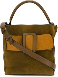 Boyy 'Devon' Tote Bag Green