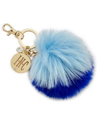 Inc International Concepts Iris Gifts For Faux Fur Pom Pom Key Chain Only At Macy's Blue