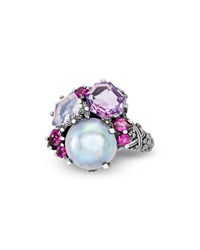 Stephen Dweck Multi Stone Small Cluster Ring