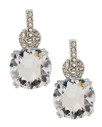 Fragments For Neiman Marcus Fragments Pave Crystal Loop Drop Earrings