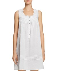 Eileen West Sleeveless Short Gown 100 Exclusive White