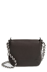 Rag And Bone 'Mini Bradbury' Leather Hobo Black