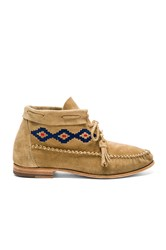 Soludos Moccasin Booties Beige