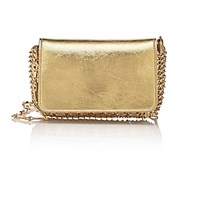 Paco Rabanne Women's 14 01 Chain Mail Mini Crossbody Gold