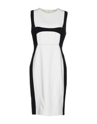 Aquilano Rimondi Knee Length Dresses White