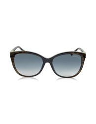 Roberto Cavalli Jabbah 872S Leopard Print Acetate Cat Eye Women's Sunglasses