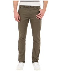 Volcom Vorta Twill Pant Old Black Board Men's Casual Pants Olive