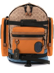 Coach Durable Backpack Brown