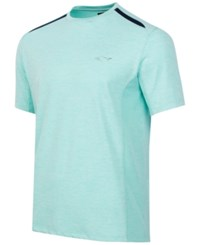 Greg Norman For Tasso Elba Men's Performance T Shirt Aqua Blast
