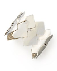 Woven Sterling Silver Cuff Dina Mackney