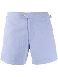 Tom Ford Classic Swimming Shorts Blue
