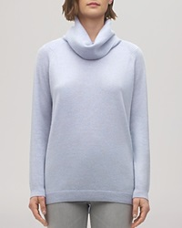 Whistles Sweater Cashmere Cowlneck Pale Blue