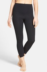 Yummie Tummie Women's Yummie By Heather Thomson 'Gloria Skimmer' Crop Leggings Black