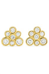 Ippolita Starlet 18 Karat Gold Diamond Earrings One Size