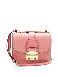 Miu Miu Chain Strap Leather Cross Body Bag Pink