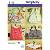 Simplicity Bags Sewing Pattern 8149