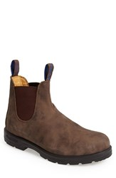 Blundstone Men's Footwear Waterproof Chelsea Boot Rustic Brown