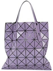 Issey Miyake Bao Bao Prism Tote Women Polyester Pvc One Size Pink Purple