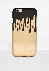 Missguided Gold Dripping I Phone 7 Case