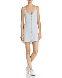Dl1961 Minetta Chambray Slip Dress Bleach