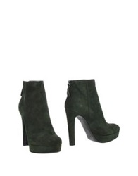 Maria Cristina Ankle Boots Green