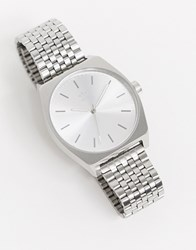 Adidas Z02 Process Bracelet Watch In Silver