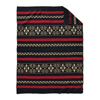 Pendleton Knit Westerley Throw Black