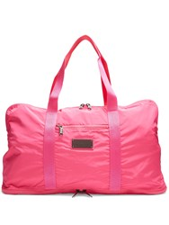 Adidas By Stella Mccartney Logo Tag Yoga Tote Pink