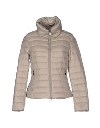 Fornarina Down Jackets Light Grey