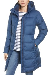 Patagonia 'Down With It' Water Repellent Parka Stone Blue