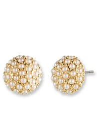 Lonna And Lilly Clustered Pearl Stud Earrings