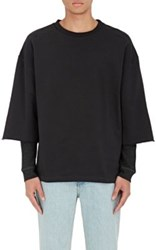 Iro Men's Sami Layered Top Black