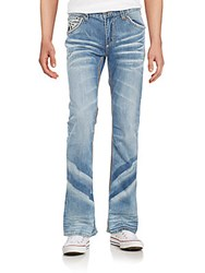 Affliction Cooper Burning Straight Leg Jeans Seattle