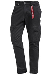 Alpha Industries Agent Cargo Trousers Black