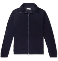 Nonnative Cyclist Piped Tech Jersey Track Jacket Navy