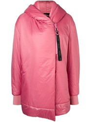 Bacon Hooded Coat Pink