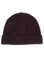 Rag And Bone 'Roscoe' Beanie Red
