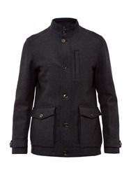 Ted Baker Chile Wool Jacket Grey