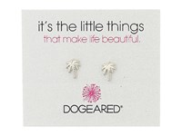 Dogeared Little Things Palm Tree Stud Earrings Sterling Silver Earring