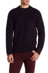 Zachary Prell Baker Street Cash Wool Sweater Red