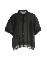 New York Industrie Shirts Shirts Black