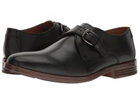 Hush Puppies Ardent Parkview Black Leather Men's Slip On Dress Shoes