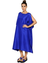 Marina Rinaldi Light Shantung Caftan Dress