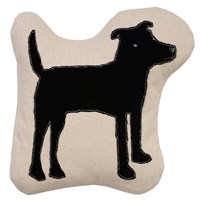 K Studio Dog Pillow Black White