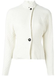 Isabel Marant 'Linda' Two Button Jacket White